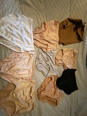 vintage granny panties Lot Of 9. Size Large