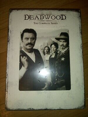 Deadwood - The Complete Series (DVD, 19-Disc Set) Brand New still sealed