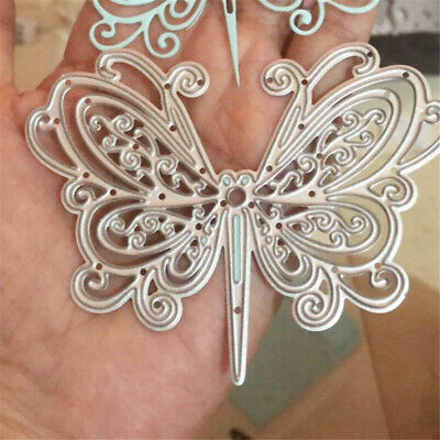 Butterfly Metal Cutting Dies Stencil Scrapbooking DIY Card Embossing Craft