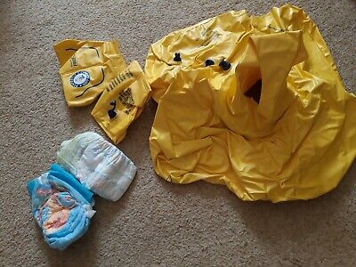 Baby Swimming Safe Seat & Armbands 0-2yrs  Rrp £16