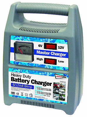6/12v 8amp Plastic Cased Battery Charger SWBCG8 Streetwize Top Quality Product