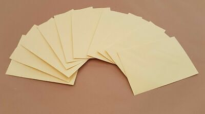 Small Cream Coloured Envelopes Cards Paper Invitations Weddings Craft Making