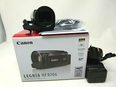 Canon LEGRIA HF R706 High Definition Camcorder-Used