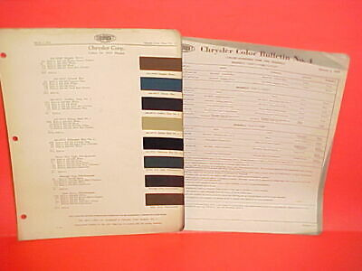 1933 1934 Chrysler Imperial Airflow Convertible Coupe Town Sedan Paint Chips