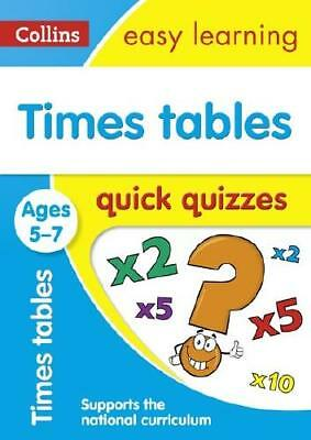 Times Tables Quick Quizzes. Ages 5-7 by Collins Easy Learning
