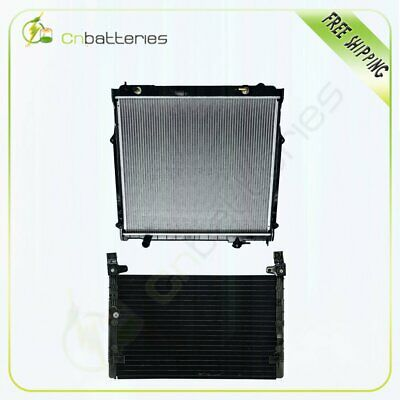 For 1998-2000 Toyota Tacoma 2.7L AC Condenser&Radiator Assembly 4899 1755
