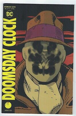 Doomsday Clock # 1 of 12 Lenticular Variant Cover NM DC 1st print
