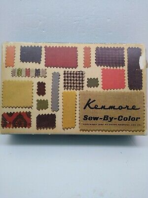 Kenmore Sew By Color Singer Sewing Machine Attachments vintage1960 Sears roebuck