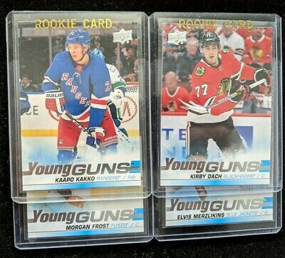 2019/20 UPPER DECK SERIES 2 YOUNG GUNS RC Hockey (#451-500) U-Pick From List