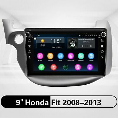 Touch 9 Inch For Honda Fit 2008 - 2013 Car Stereo Head Unit 4GB+64GB GPS SWC