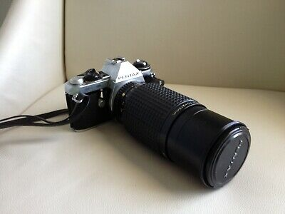 Pentax ME SUPER 35mm Film Camera with Pentax 210mm Lens