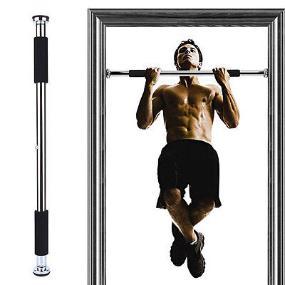 "New Doorway Chin Up Bar Pull Up Bar Exercise 25-40"" Doors"