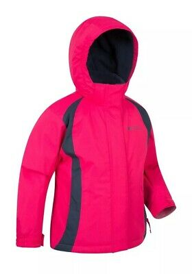 MOUNTAIN WAREHOUSE Pink Jacket Coat Waterproof Windproof Walking Age 13 / Size 6