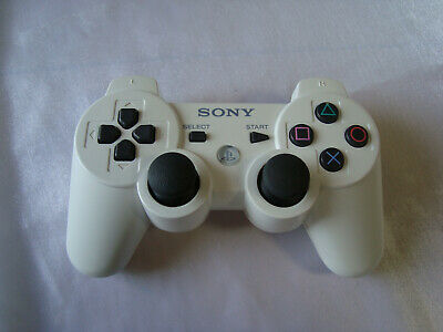 Official SONY PlayStation 3 DualShock 3 Ceramic White Controller PS3