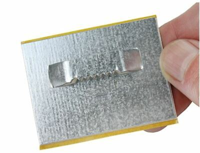 PANEL HANGING PLATED G SELF ADHESIVE 60mm x 45mm PICTURE FRAME HANGER FRAMES