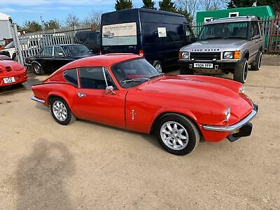 Triumph GT6, MKlll, 1973, lovely useable classic sports car.