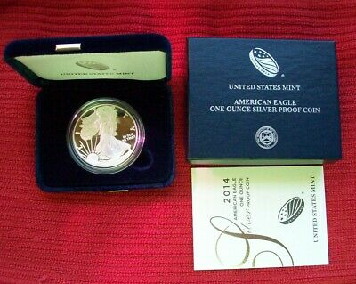 2015-W American Silver Eagle Proof in Sealed Unopened US Mint Box ES6