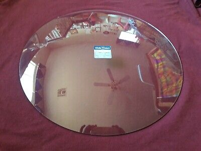 "15"" Convex Round Clear Glass Clock Lens - New Old Stock - Mint Condition"