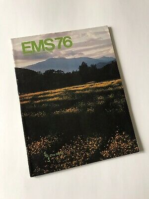 Vintage 1976 Eastern Mountain Sports Spring Summer Catalog North Face EMS