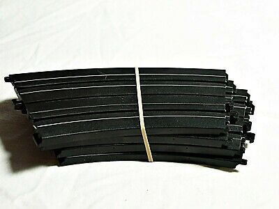 """433-9930 HO Slot Car Track Parts Life Like 9/"""" Straight Lot of 8 Pieces"""