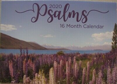 2020 Paperback Wall Calendar - Psalms