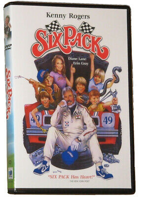 SIX PACK DVD (1982) - Widescreen - Kenny Rogers - Diane Lane NEW (DVD)