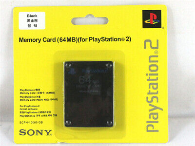 PS2 64MB Memory Cards For Sony PlayStation 2 format games Expansion Packs
