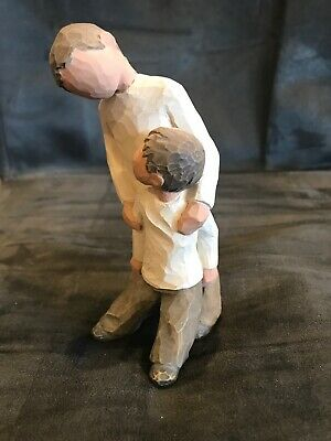Willow Tree 2001 Brothers Big Brother helping Figurine by Susan Lordi RARE