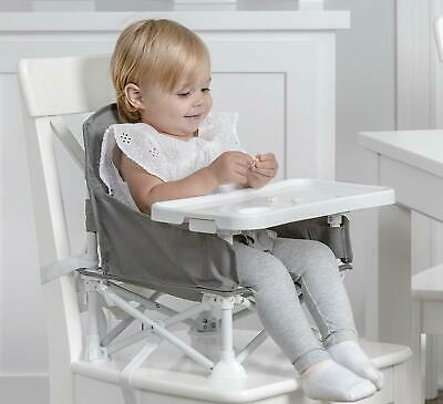Portable Infant Seat Booster Baby Toddler Dining High Chair Camping Travel New