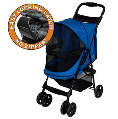 PetGear - Pet Gear No Zip Stroller Buggy PushChair  Blue Sapphire - NQP