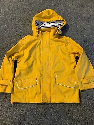 Unisex Girls Boys Yellow Jacket Coat Waterproof 5-6 Years Sable & Mer by Win's
