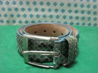 Vintage - Men's Belt Genuine Leather By