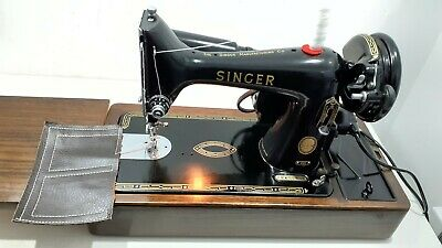 Semi-Industrial Singer 99K Elect Sewing Machine, SERVICED, PAT TEST,sews LEATHER