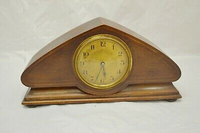 Antique French Mantle Clock Working ##Weye6