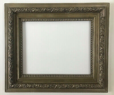 Antique ornate late 19th-early 20th century gilt and carved wood frame