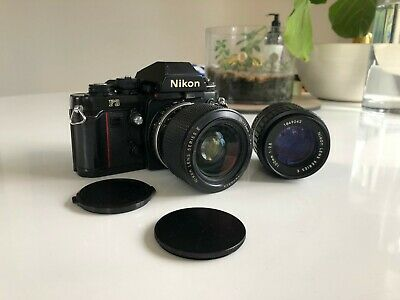 Nikon F3 35mm SLR Film Camera - with 2x Series E Lenses (100mm and Zoom 36-72mm)