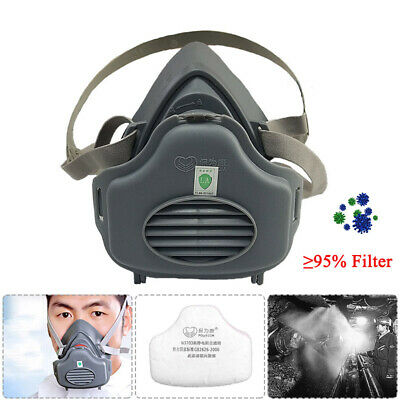 Anti Gas/Dust Mask Survival Safety Respiratory Emergency Filter Pad Face Masks