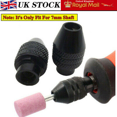 1X Multi Chuck Quick Change Adapter Drill Bit For Rotary Machine Accessories UK~