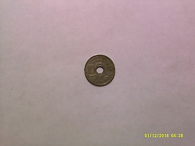 Old France Coin - 1939 10 Centimes - Circulated