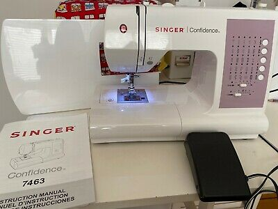 singer confidence 7463 + Extension Table