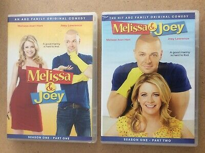 Melissa & Joey complete season 1 (parts 1 and 2) on dvd