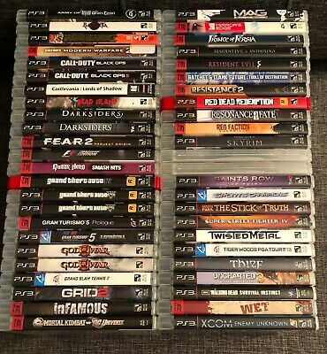 PS3 Games * You Pick * Over 20 games to choose from! **Free Shipping**