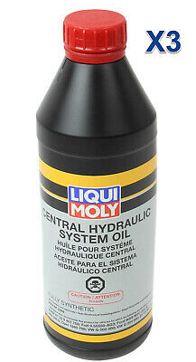 3 Liter Power Steering Hydraulic System Fluid LIQUI MOLY Made in Germany