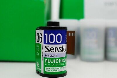 10 ROLLS Fujichrome Sensia 35mm 36 iso100 E6 film hard to find