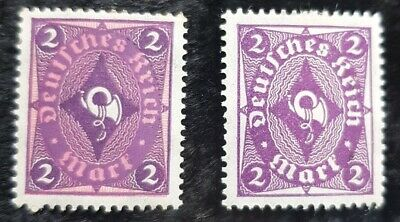 10x 1922 Germany coachhorn stamps see pics for grading