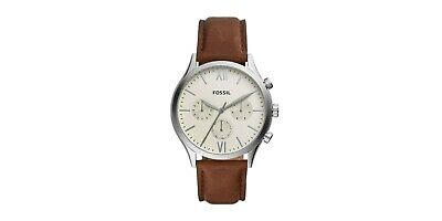 Fossil BQ2363 Men's Fenmore Brown Leather Watch