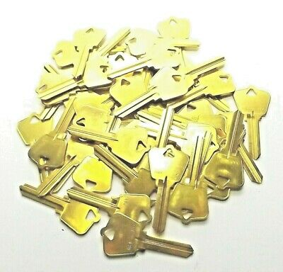 Lot Of 100 Ilco Taylor Ar4-Br Brass Key Blank