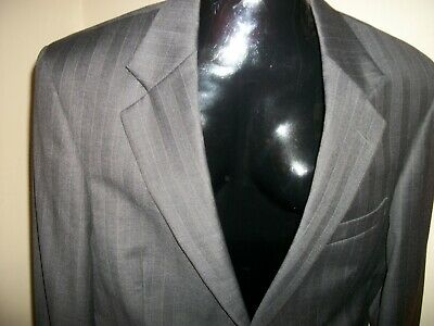 Men's Nautica Suit Coat Sport Jacket Blazer Size 40R Gray