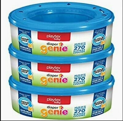 BRAND NEW!!! Playtex Diaper Genie Refill Bags, 3 Pack, 810 Count