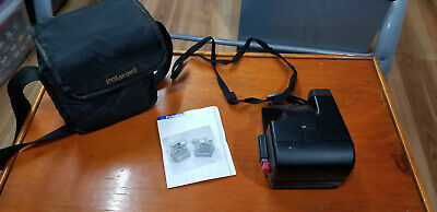 Polaroid 600 Business Edition 2 One Step Instant Film Camera With Bag Vintage